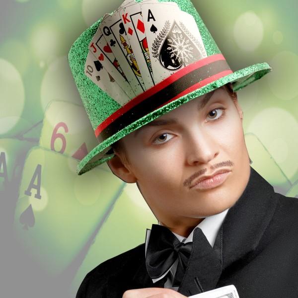 Casino-Green-Glitter-Top-Hat