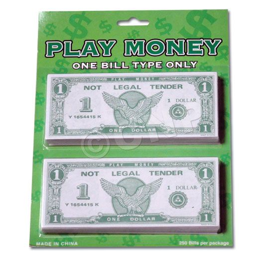 casino play money